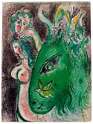 Marc Chagall Paradise